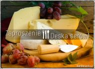 eKartki elektroniczne z tagiem: Zaproszenia na kolację Deska serów,
