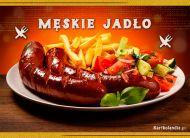 eKartki elektroniczne z tagiem: Zaproszenia na obiad Mêskie Jad³o,