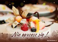 eKartki elektroniczne z tagiem: e-Kartki zaproszenia na deser Nie oprzesz się!,