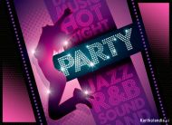 eKartki elektroniczne z tagiem: Zaproszenia do tañca Party,