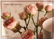 eKartki elektroniczne z tagiem: Zaproszenia e kartki Pragnę Cię zaprosić ...,
