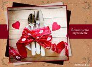 eKartki elektroniczne z tagiem: Zaproszenia na kolacjê Romantyczne Zaproszenie,
