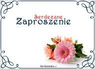eKartki Zaproszenia Serdeczne Zaproszenie,