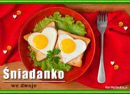 eKartki Zaproszenia Śniadanko we dwoje,