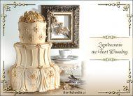 eKartki Zaproszenia Tort Weselny,