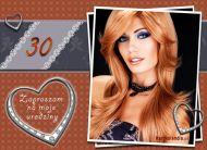 eKartki elektroniczne z tagiem: 30 urodziny Wyj±tkowa okazja 30 urodziny,