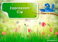 eKartki Zaproszenia Zaproszenie do natury,