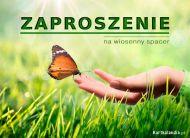 eKartki Zaproszenia Zaproszenie na wiosenny spacer,