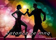 eKartki elektroniczne z tagiem: Zaproszenia do tañca Zatañcz ze mn±!,