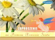 eKartki elektroniczne z tagiem: Zaproszenia na I komuniê ¦wiêt± Pierwsza Komunia ¦wiêta,