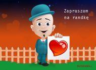 eKartki Zaproszenia Zaproszenie na randkę,