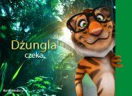 eKartki elektroniczne z tagiem: Kartki zwierzęta Dżungla czeka,
