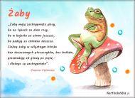 eKartki Zwierzęta Zachrypnięta żaba,