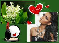 eKartki elektroniczne z tagiem: Dzień Kobiet kartki darmowe Dla pięknej kobiety,
