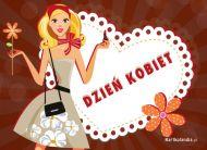 eKartki elektroniczne z tagiem: Dzień Kobiet kartki darmowe Kartka Dzień Kobiet,