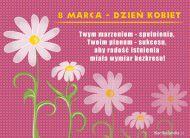 eKartki Dzieñ Kobiet Kwiatuszki na Dzieñ Kobiet,