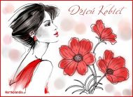 eKartki Dzieñ Kobiet Kwiaty dla Ciebie,