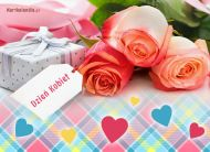 eKartki Dzień Kobiet Różane życzenia,