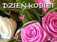 eKartki Dzień Kobiet Róże na Dzień Kobiet,
