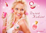 eKartki elektroniczne z tagiem: e-Kartki Dzień Kobiet darmo Różowego Dnia Kobiet,