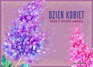 eKartki Dzień Kobiet Mowa kwiatów,