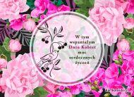 eKartki elektroniczne z tagiem: Kwiaty Ogród pełen życzeń!,