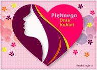 eKartki Dzień Kobiet Pięknego Dnia Kobiet,
