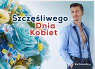 eKartki elektroniczne z tagiem: Kwiaty Szczęśliwego Dnia Kobiet,