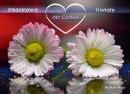 eKartki Imieninowe Imieninowe kwiaty,