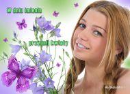eKartki Imieninowe Przyjmij kwiaty,