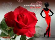 eKartki Imieninowe Róży kwiat,