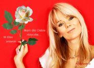 eKartki Imieninowe Różyczka dla Ciebie,