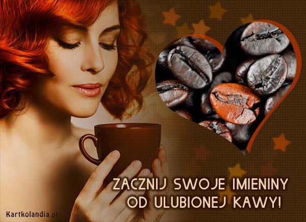 Aromat imieninowej kawy