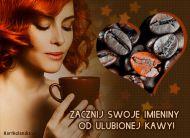 eKartki Imieninowe Aromat imieninowej kawy,