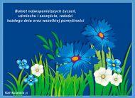 eKartki elektroniczne z tagiem: e-Kartki na imieniny Bukiet najwspanialszych życzeń,