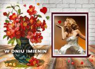 eKartki elektroniczne z tagiem: e-Kartki na imieniny Życzenia pełne miłości,
