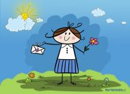 eKartki elektroniczne z tagiem: Darmowe kartki elektroniczne Szczęśliwy dzień imienin,