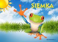 eKartki elektroniczne z tagiem: e-Kartka pozdrowienia Siemka,