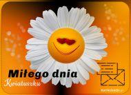 eKartki elektroniczne z tagiem: Darmowe e-kartki Miłego dnia Kwiatuszku,