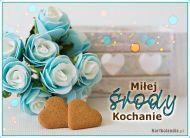 eKartki Wyraź uczucia -> Pozdrowienia Miłej środy Kochanie,