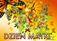 eKartki Dzień Matki Motyle dla Mamy,