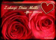 eKartki Dzień Matki Różane życzenia,