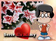 eKartki Dzieñ Matki Serce dla Mamy,