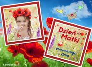 eKartki elektroniczne z tagiem: Dzieñ Matki Kartki Cudownego dnia,