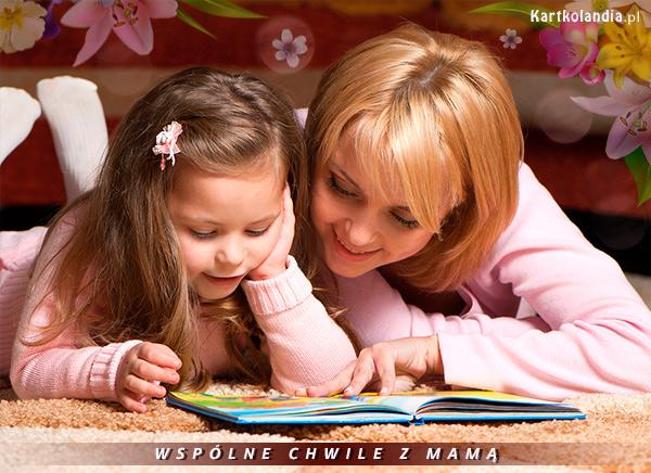 Wspólne chwile z mamą