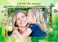 eKartki elektroniczne z tagiem: e Pocztówki online Całuski dla mamusi,