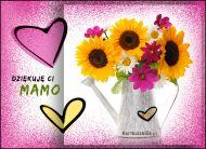eKartki elektroniczne z tagiem: Życzenia dla Mamy Dziękuję Ci Mamo!,