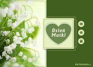 eKartki Dzień Matki Konwalie na Dzień Matki,