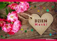 eKartki Dzień Matki Kwiatuszki z życzeniami,