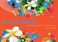 eKartki Dzień Matki Laurka na Dzień Matki,